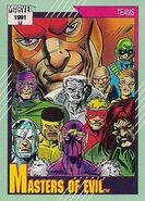 Masters of Evil (Earth-616) from Marvel Universe Cards Series II 0001