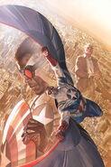 All-New Captain America Vol 1 1 Ross Variant Textless