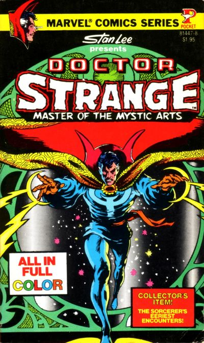 Image result for Marvel  Dr Strange pocket book