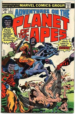 Adventures on the Planet of the Apes Vol 1 2