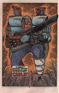 New Mutants Annual Vol 1 6 Pinup 2
