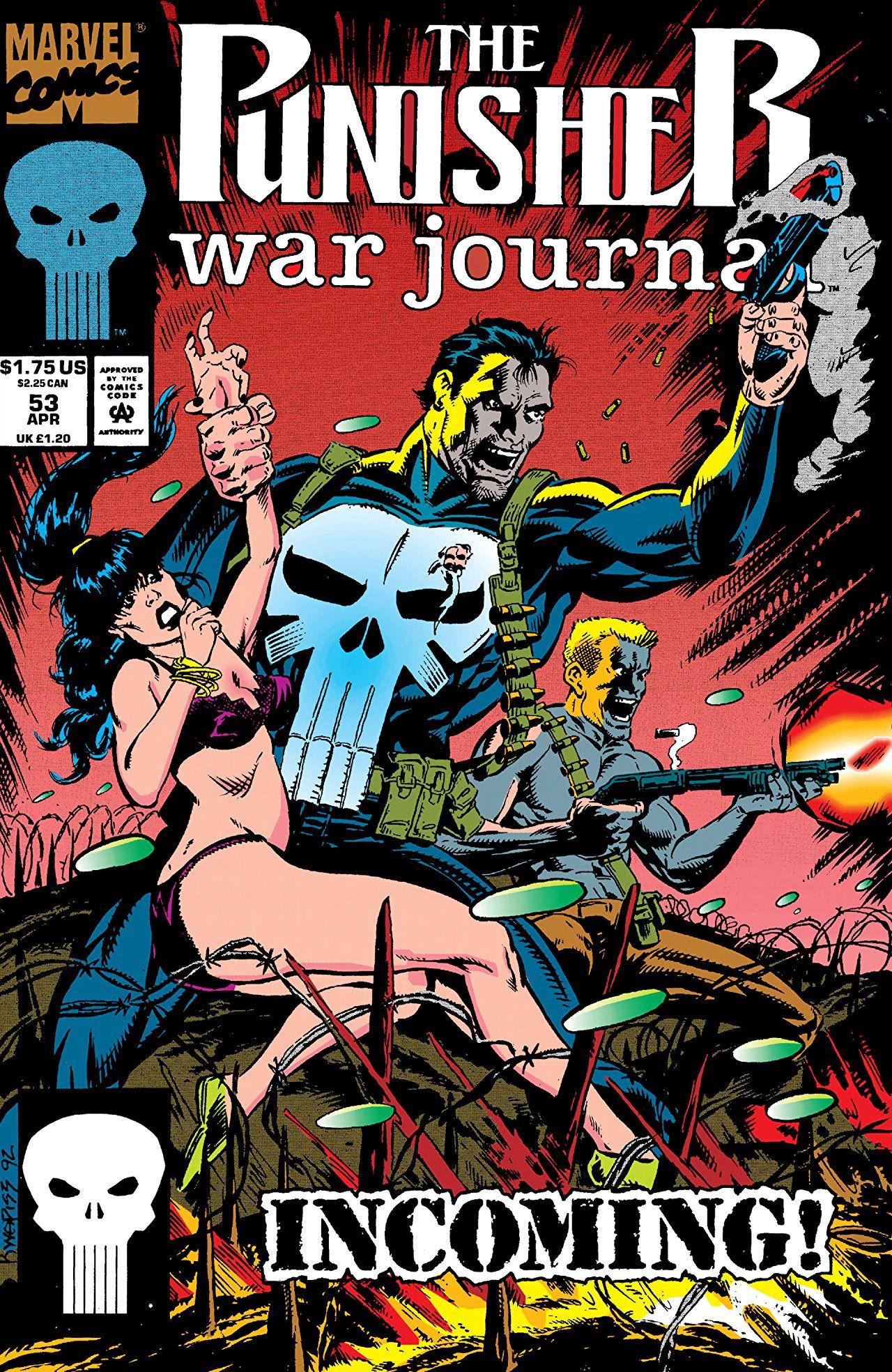 Punisher War Journal Vol 1 53 | Marvel Database | Fandom ...