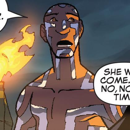 Nezhno Abidemi (Earth-616) and Ben Hammil (Earth-616) from New X-Men Vol 2 38 0001