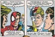 Peter Parker and Phil Grayfield (Earth-616) from NFL Superpro Vol 1 1 0001