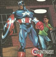 Samuel Wilson (Earth-616) as Captain America 001