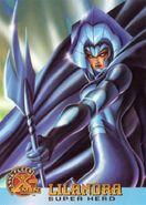 Lilandra Neramani (Earth-616) from 1996 Fleer X-Men (Trading Cards) 0001