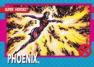 Rachel Grey (Earth-811) from X-Men (Trading Cards) 1992 Set 0001