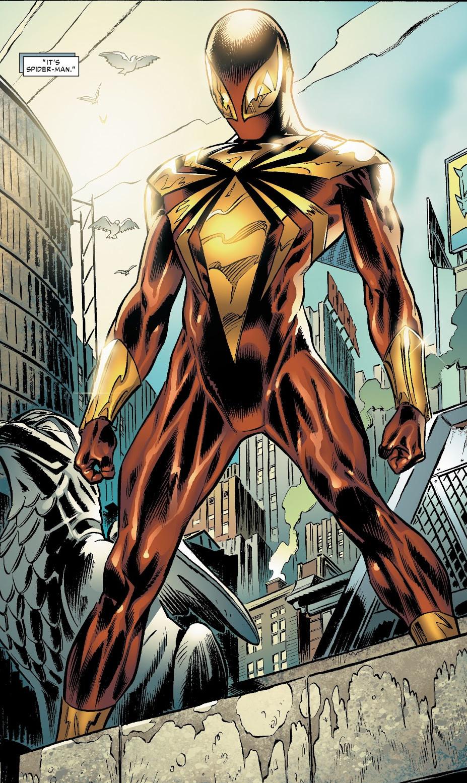 Iron Spider Armor Marvel Database Fandom Powered By Wikia