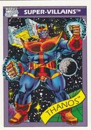 Thanos (Earth-616) from Marvel Universe Cards Series I 0001