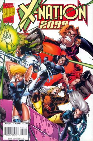 X-Nation 2099 Vol 1 2