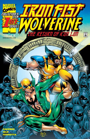 Iron Fist Wolverine Vol 1 1