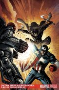 Captain America Black Panther Flags of Our Fathers Vol 1 4 Textless