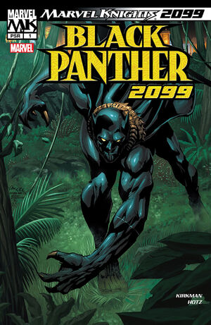 Black Panther 2099 Vol 1 1