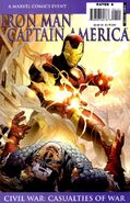 Iron Man Captain America Casualties of War Vol 1 1