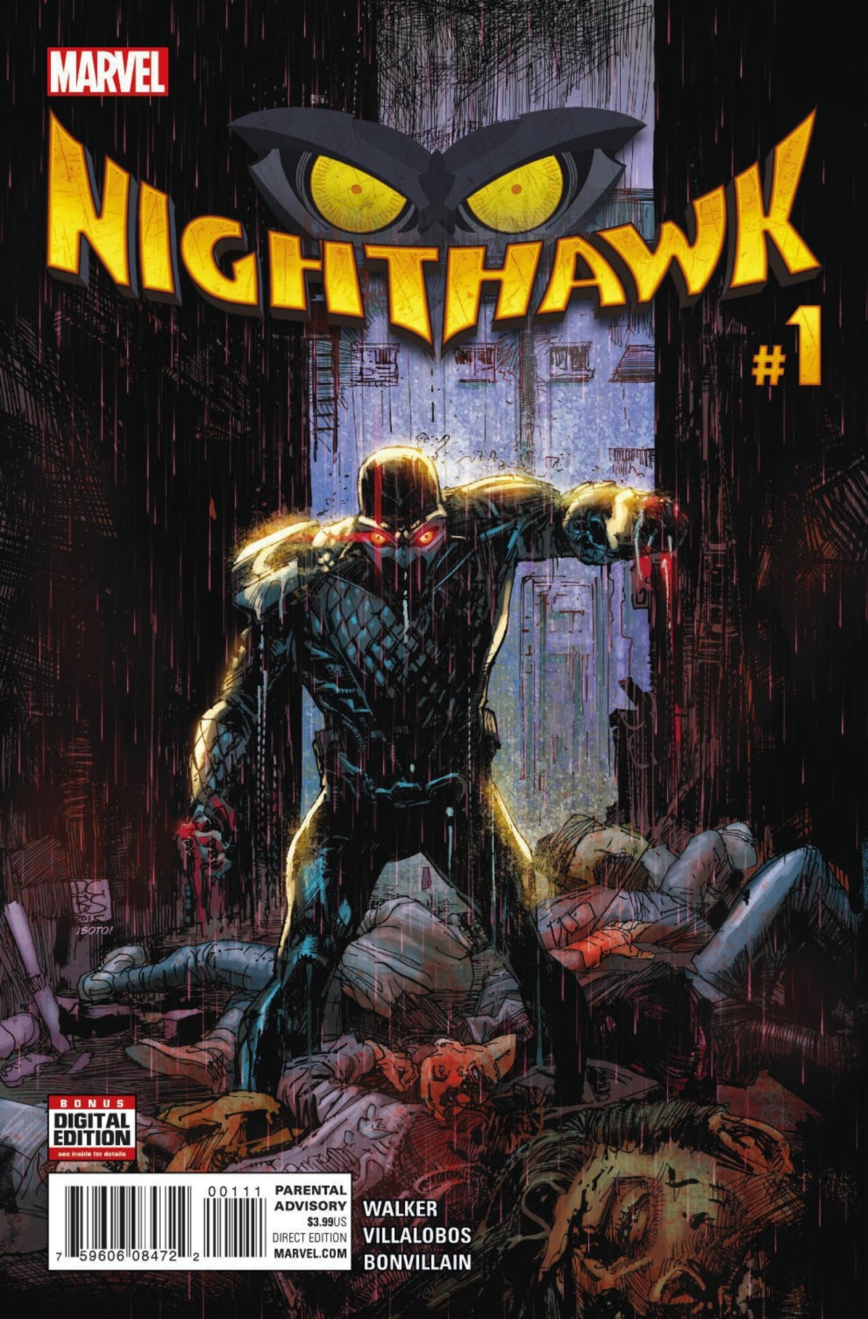 Image result for nighthawk volume 1