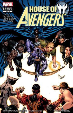 House of M Avengers Vol 1 5