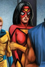 Jessica Drew (Earth-10298) from What If? Spider-Man House of M Vol 1 1 001