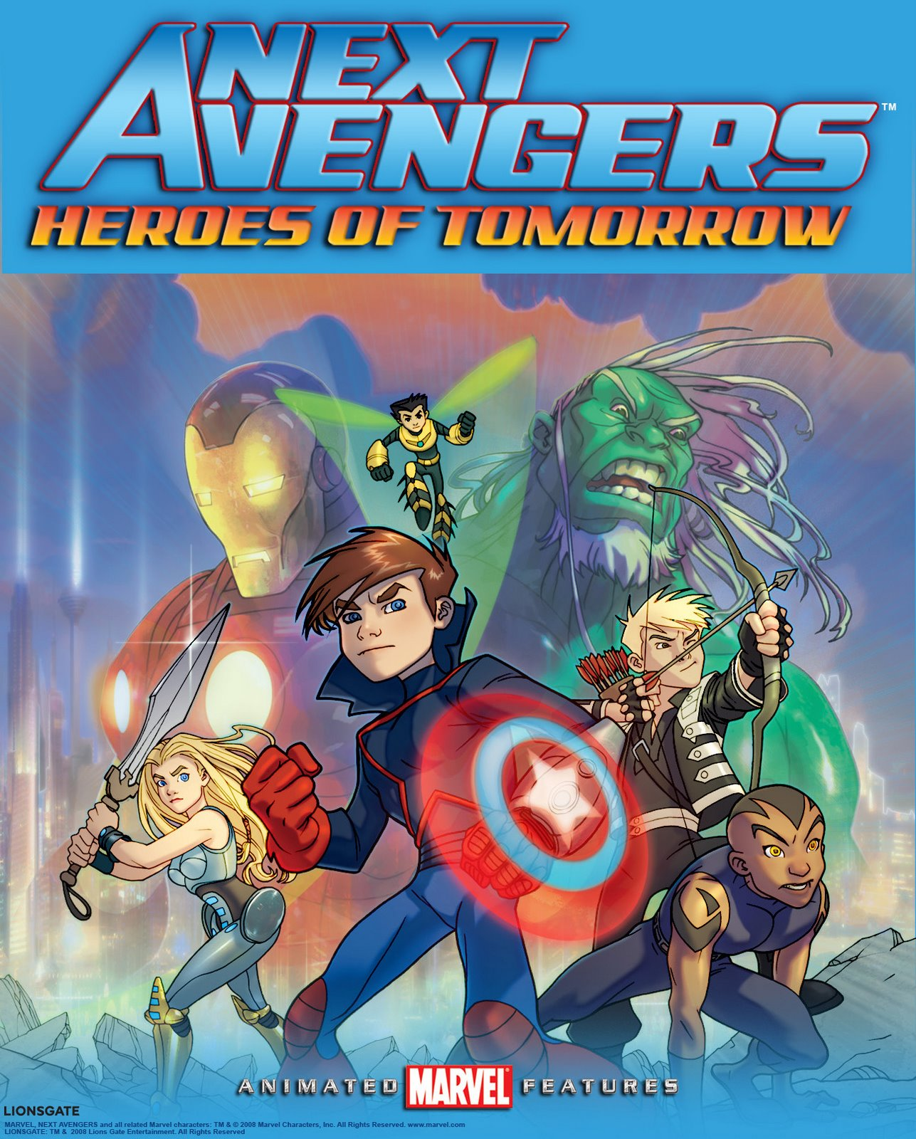 Next avengers heroes of tomorrow marvel database fandom powered by wikia - Heros avengers ...