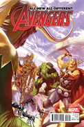 All-New, All-Different Avengers Vol 1 1 Ross Variant