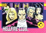Hellfire Club (Earth-616) from 1992 Impel X-Men (Trading Cards) 0001