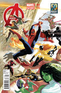 Avengers Vol 5 3 50 Years of Avengers Variant