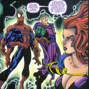 Norman Osborn (Earth-1298) and Peter Parker (Clone) (Earth-1298) in Trouble