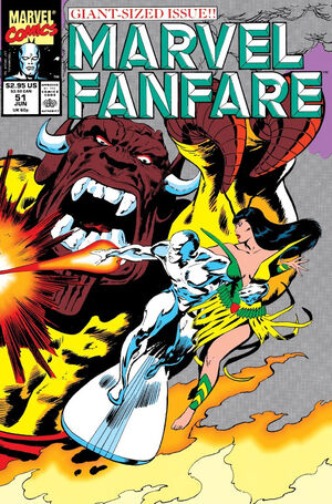 Marvel Fanfare Vol 1 51