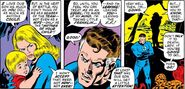Reed and Sue Richards separate from Fantastic Four Vol 1 130