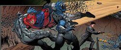 Brian Braddock (Earth-616) Revolutionary War Alpha Vol 1 1 0002