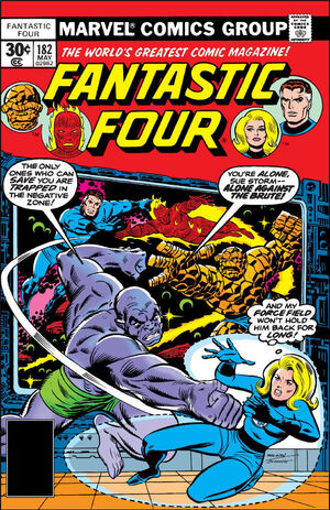 Fantastic Four Vol 1 182