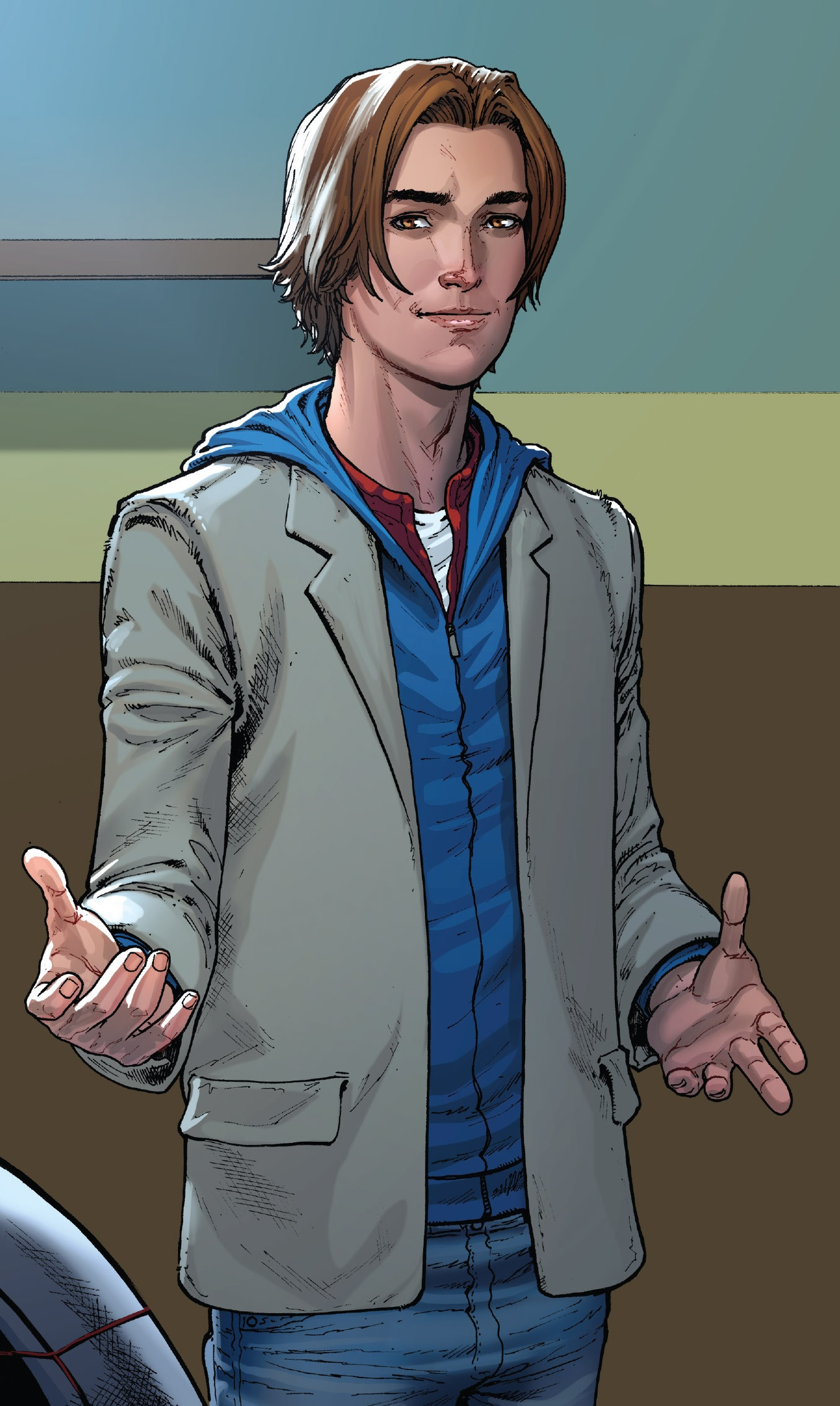 Peter Parker (Earth-1610) from Miles Morales Ultimate Spider-Man Vol 1 1 002