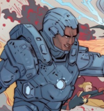 James Rhodes (Earth-55) from Civil War II Choosing Sides Vol 1 2 001