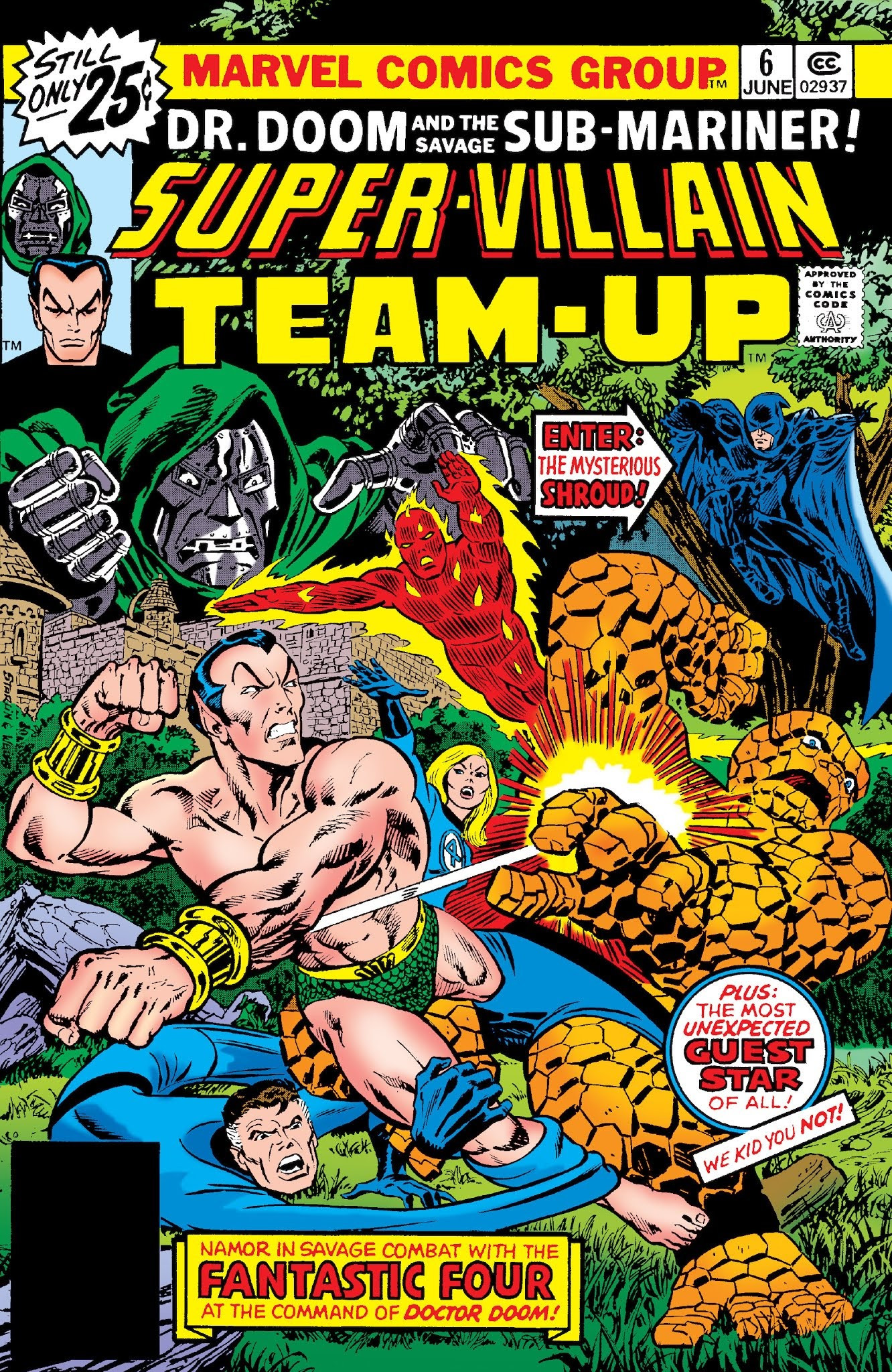 Super-Villain Team-Up Vol 1 6