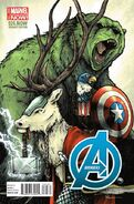 Avengers Vol 5 24.NOW Animal Variant