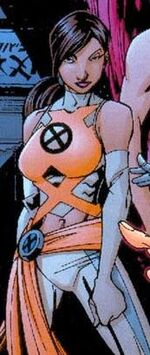 Sofia Mantega (Earth-600123) from New X-Men Vol 2 11 0001