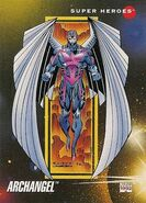 Warren Worthington III (Earth-616) from Marvel Universe Cards Series III 0001