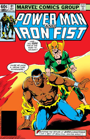 Power Man and Iron Fist Vol 1 81
