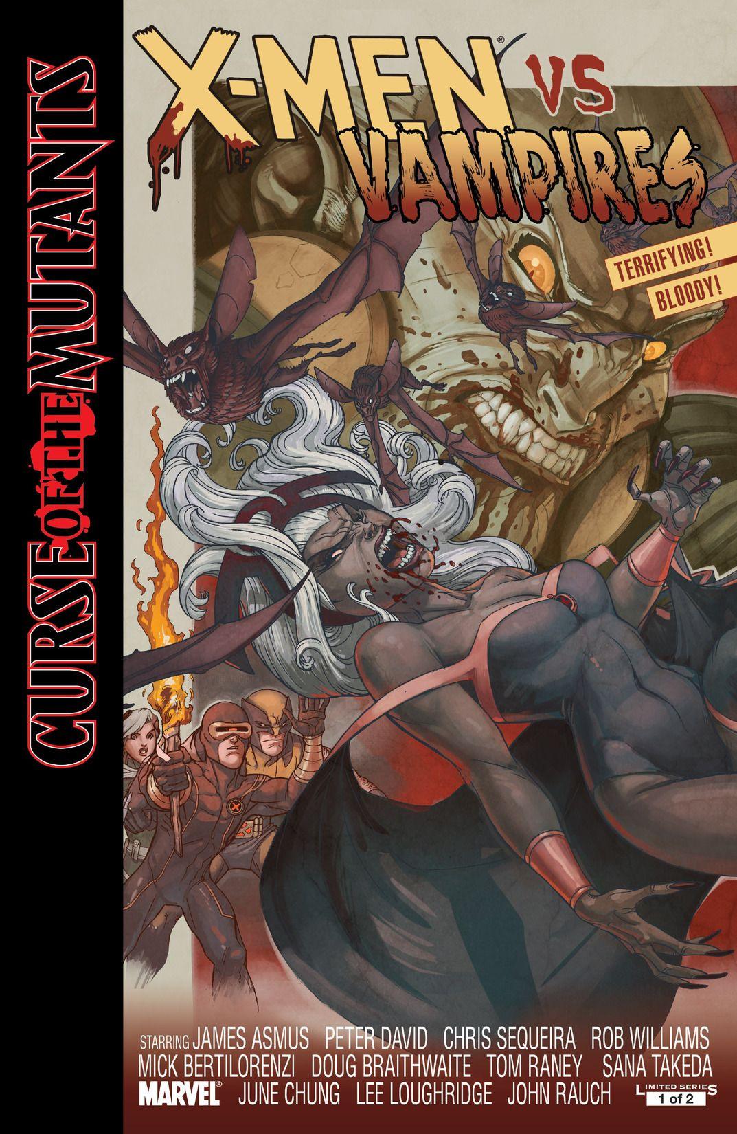 X-Men: Curse of the Mutants - X-Men vs. Vampires Vol 1 1 ...