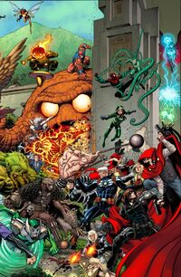 Avengers Standoff Assault On Pleasant Hill Omega Vol 1 1 Adams Connecting Variant B Textless