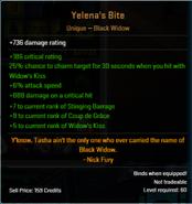 Yelena's Bite