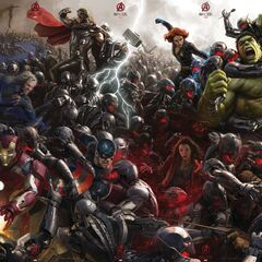 Official <i>Age of Ultron</i> Comic-Con poster.
