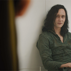 Loki, in prison, as <a href=