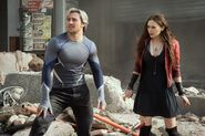 AoU Quicksilver, Scarlet Witch