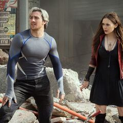 Official First Look at Quicksilver and Scarlet Witch