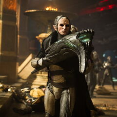 Malekith with an Anti-Matter Gun.