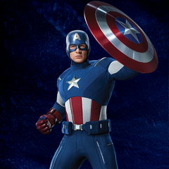 Promotional Russian Poster featuring Captain America.