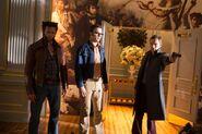 Logan, Hank and Erik