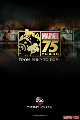 Marvel Pulp to Pop Poster