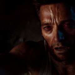 Logan near death as his healing power is drained