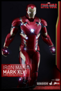 Iron Man armor XLVI Hot Toy Preview